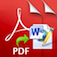 PDF to Word Icon