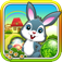 Easter Bunny Egg Hunt Run and Jump Collect them all FREE Icon