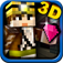 Mine Run 3D - Pocket Block Escape Game with skins maker for character & minecraft (PC edition) 2 in 1 icon