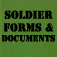Soldier Forms and Documents Icon