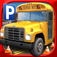 3D School Bus Parking Simulator Game - Real Driving Test Race Sim Games Free icon