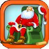 Amazing Santa Racing Skateboard Game Icon
