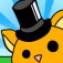 Fat Cat in a Top Hat Icon