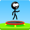 Trampoline Man Stickman Game