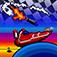 Pixel Boat Rush Icon