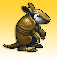 Armadillo Gold Rush Icon