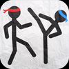 Stickman Fighting Deluxe Icon