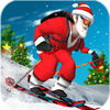 Offroad Santa Skiing Review iOS