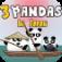 3 Pandas In Japan Icon