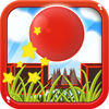 Bouncy Red Ball Fast Wipeout Pro