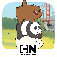 Free Fur All  We Bare Bears Minigame Collection