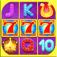 A Aced Golden Slots  Bonus Round Winning Slot Games