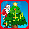 Light Up Xmas Tree Icon