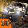Russian SUV Offroad Driving 3D Icon