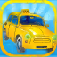 Blocky Traffic Taxi Dash Pro 3D Icon